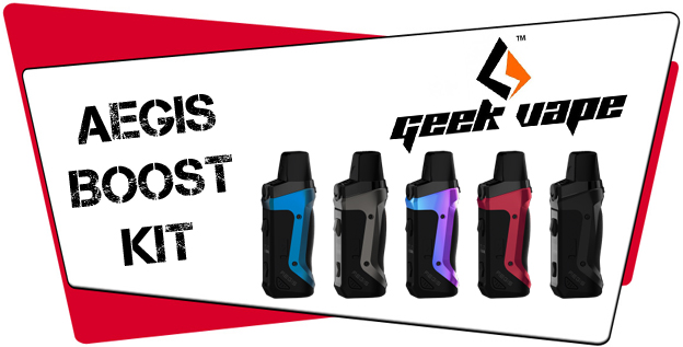 Geekvape Aegis Boost Kit Liquid Helden